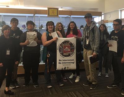 NM MESA Students Visit NM Tech