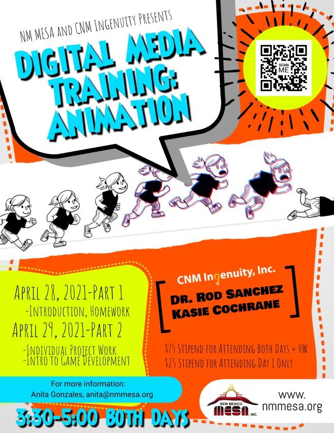 Digital Media Flyer