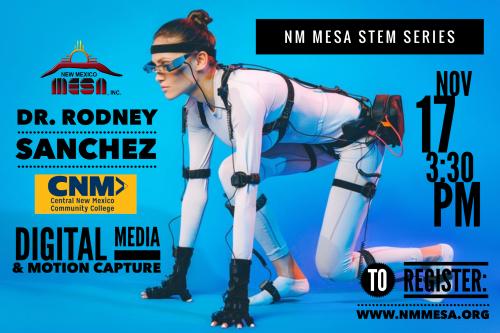 NM STEM Series #4: Digital Media and Motion Capture
