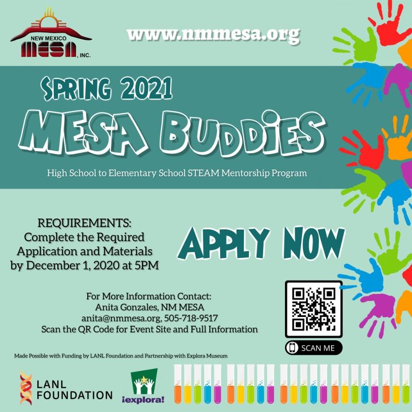 MESA Buddies Promotion