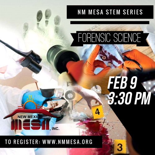 NM STEM Series #8: Michael Haag, Forensic Science