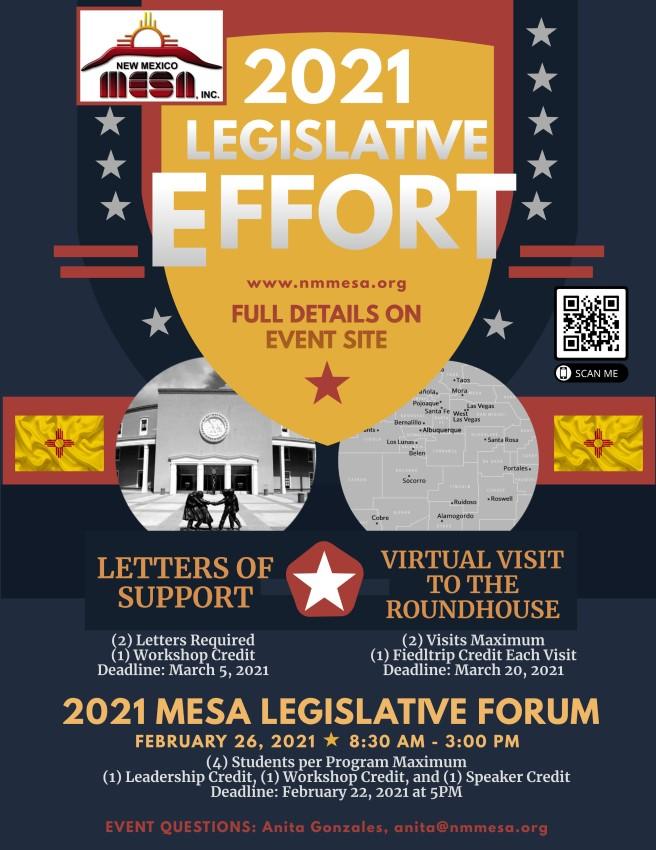 2021 Legislative Effort